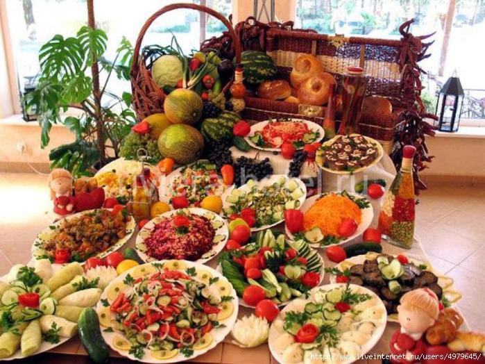 Лучшие оригинальные рецепты к праздничному столу