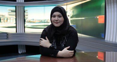 Первая телепередача журналистов РИИ